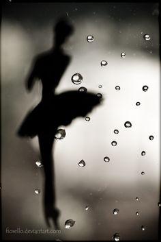 tip toe in the rain... by ~FioReLLo on deviantART