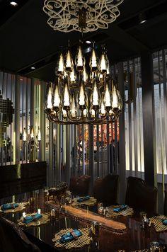 """die neue leuchtenserie """"copper shade"""" von tom dixon auf der #icff"""