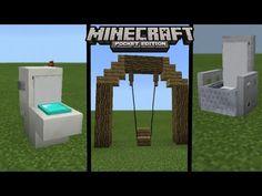 YouTube Video Minecraft, Minecraft Pe Seeds, Minecraft Mobs, Minecraft Blueprints, Minecraft Designs, Minecraft Projects, House Blueprints, Minecraft Mansion, Minecraft Tutorial