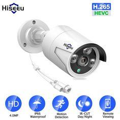 9601ecdc2b85 Promo Offer Hiseeu POE IP Camera Bullet WDR IP Camera Waterproof indoor Outdoor  home security video surveillance ONVIF