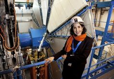 Fabiola     Gianotti, age 50, is the head physicist working on the Large Hadron Collider at CERN in Switzerland. She leads a group of 3,000 particle physicists who work on what is arguably the world's most complex and impressive piece of technology, the Large Hadron Collider at Cern European Laboratory for Particle Physics.