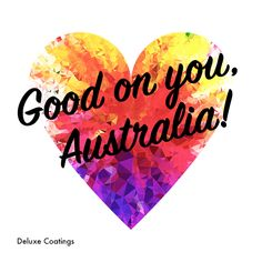 So proud of our great country! Let's live and let live. #australia