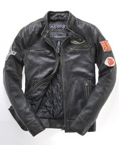 Superdry Super Scrambler Jacket... need something like this is brown