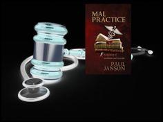 Mal Pracitce by Paul Janson https://www.facebook.com/MalpracticeTheBook Mystery Books, Coffee Maker, Novels, Medicine, Coffee Percolator, Coffeemaker, Fiction, Medical Technology, Romans