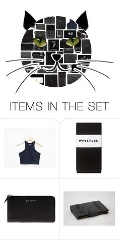"""Black cat"" by stelbell ❤ liked on Polyvore featuring art"