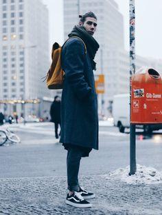Casual Style의 남자 겨울 후드티 코디들 :: Men's Look book