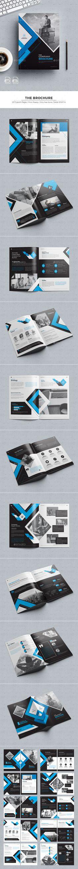 #Brochure - #Corporate Brochures Download here: https://graphicriver.net/item/brochure/19032896?ref=alena994