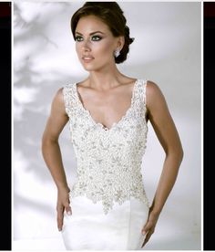 Style *12847* EMMA » Wedding Dresses » Spring 2014 Collection » by Cristiano Lucci (close up)      www.nhsales.co.uk