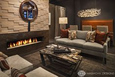 Habachy Designs' French Alps Ski Chalet inspired interior! On exhibit at the Atlanta Decorative Arts' Center through Sept. 31st, 2014.