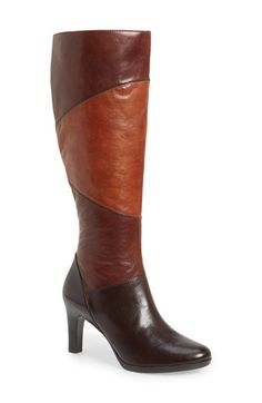 Naturalizer 'Analise' Tall Boot (Women) (Wide Calf) available at #Nordstrom Love these boots so comfortable!