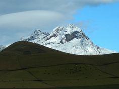 Chimborazo's sister volcano, Carihuairazo.  by CTMorck, via Flickr