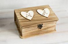 Wedding Card Box Rustic Wooden Keepsake Box by MyHouseOfDreams, $36.00