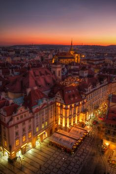 Fairy tale city, Prague | Czech Republic (by Miroslav Petrasko)