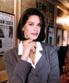 Super-babes in TV & Movies #5: Teri Hatcher as Lois Lane ('Lois & Clark: the New Adventures of Superman', 1994-1997)