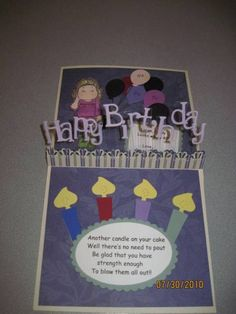 Adrianne's 40th Birthday by beechwood - Cards and Paper Crafts at Splitcoaststampers