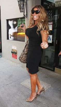 Wendy Williams in New York