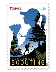 Girl Scout Stamp!!