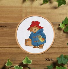 #crossstitchpattern #pdf #crossstitch #Paddington #Bear