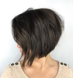Stacked Bob with Elongated Front Pieces