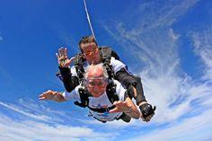100th Birthday Tandem Skydive