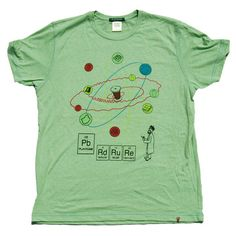 Scientist Tee Green now featured on Fab.
