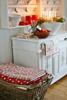 VIBEKE DESIGN: rød og hvit jul