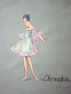 En 1908, par amour pour sa fille, Jeanne Lanvin imaginait la toute première collection de mode pour enfants. 105 ans plus tard, la maison française ouvre ses archives et dévoile les croquis candides et raffinés de la première ligne enfantine de la couturière. La mode enfantine croquée par Jeanne Lanvin | Vogue
