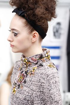 Chanel HC AW 2016-17 #Chanel #ChanelHauteCouture #ChanelAteliers Visit espritdegabrielle.com | L'héritage de Coco Chanel #espritdegabrielle