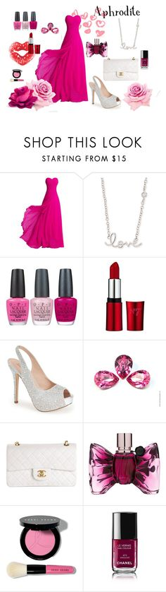 """Aphrodite"" by le-piano-argent ❤ liked on Polyvore featuring Sydney Evan, OPI, Lauren Lorraine, Chanel, Viktor & Rolf and Bobbi Brown Cosmetics"