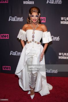 Valentina attends 'RuPaul's Drag Race' Season 9 Premiere Party & Meet The Queens Event at PlayStation Theater on March 7, 2017 in New York City.