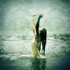 What's better then the rain? The rain while in the ocean! I Love Rain, No Rain, Singing In The Rain, Tornados, Thunderstorms, Learn To Dance, When It Rains, Getting Wet, Rain Drops