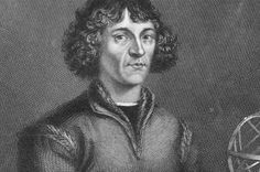 Nicolaus Copernicus - the first person to come up with the mathematics for a heliocentric theory of the universe (technically, the Greek astronomer Aristarchus proposed a sun centered universe back in ancient times, but Copernicus developed it...