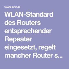 WLAN-Standard des Routers entsprechender Repeater eingesetzt, regelt mancher Router seine Geschwindigkeit auf das Repeater-Niveau herab. Dadurch wird das ganze WLAN, nicht nur im Bereich des Repeaters, ausgebremst. Selbst beim Einsatz eines Dualband-Routers mit schnellem WLAN nach Standard 802.11ac ist das ganze Netz dann plötzlich nur noch so schnell wie der langsamste Repeater, was sich besonders in der Datenübertragung zwischen den Endgeräten bemerkbar macht. Time-Machine-Backups auf die…