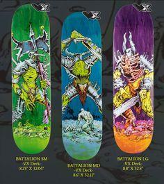 Creature Decks, Creature Skateboards, Skate Art, Deck Lighting, Skateboard Decks, Hard Rock, Creatures, Magazine, Skateboard Art