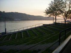 Harris Riverfront Park Huntington, West Virginia ♥ my hometown ♥