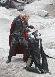 Thor and Malekith