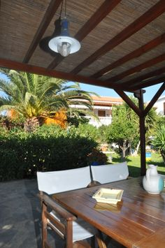Relax in our Garden. Greece, Pergola, Studios, Anna, Relax, Outdoor Structures, Patio, Traditional, Island