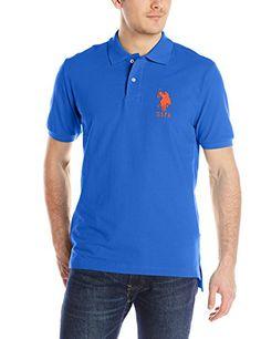U.S. Polo Assn. Men's Solid Short-Sleeve Pique Polo Shirt - http://our-shopping-store.com