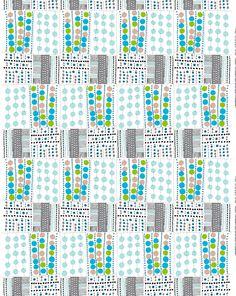 Korona cotton / linen fabric by Marimekko