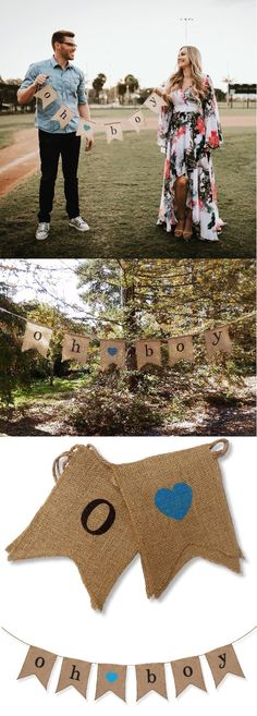 SUMMER SALE! Celebrate a new baby boy with our rustic, outdoor baby shower decorations!