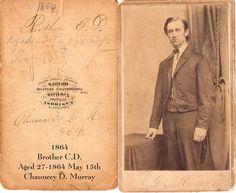 1864 Chauncey Dickinson Murray
