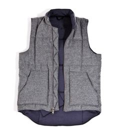 new style 400a3 2a92e 201 OUTLIER Vest FlatMidGray - is it weird to buy a men s piece for your  wardrobe