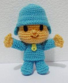 Crochet Patrón De Ganchillo Pocoyo Muñeca leer descripción Chico patrón de ganchillo