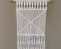 Medium macrame wall hanging ∣ 100% coton rope ≫ HipsyPetitJeNeSaisQuoi