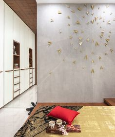 Swaram A Contemporary House Interior Bedroom Door Home Decor Bedroom, Wall Design, Modern Bedroom Design, Bedroom Door Decorations, Contemporary Bedroom, Contemporary House, Bedroom Design, Contemporary Doors, Home Decor
