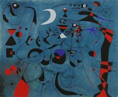 Joan Miro Art - Artwork of Joan Miró National Gallery Of Art, Miro Artist, Joan Miro Paintings, Infinite Art, Hieronymus Bosch, Spanish Painters, Philadelphia Museum Of Art, Pablo Picasso, Oeuvre D'art