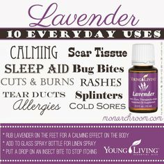 64 Best Lavender Essential Oil Young Living Images On Pinterest