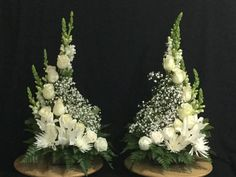 altar flower arrangements for weddings wedding flowers - Wedding Flowers & Bouquet Ideas Easter Flower Arrangements, Funeral Flower Arrangements, Beautiful Flower Arrangements, Flower Centerpieces, Flower Decorations, White Flowers, Beautiful Flowers, Spring Flowers, Altar Flowers