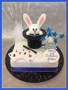 Magic Rabbit Hat Cake