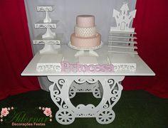 Decoração Kit Provençal Festa Infantil Princesas Kit Rosa - http://www.adornardecoracoesfestas.com.br/decoracao-kit-provencal-festa-infantil-princesas-kit-rosa/